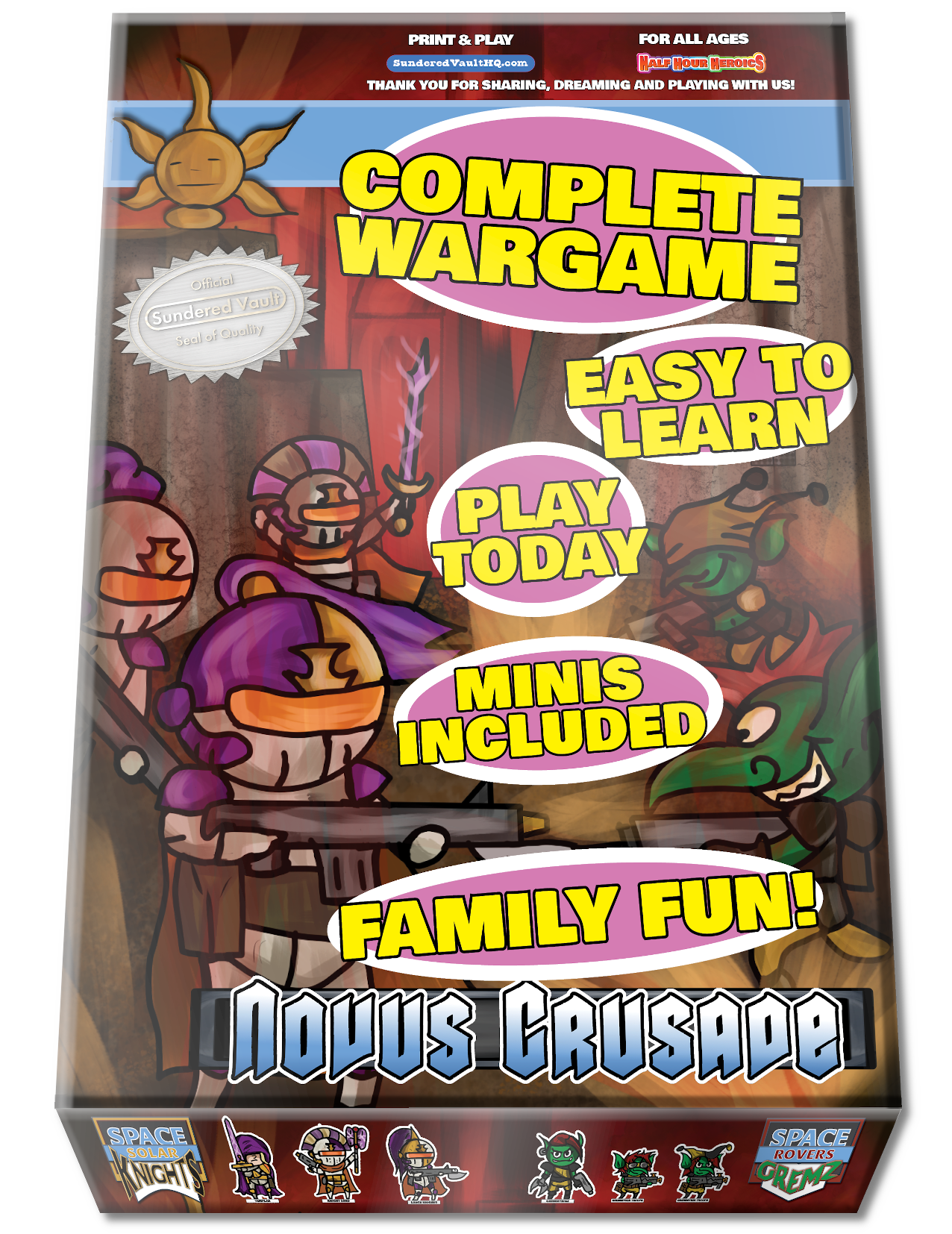 Novus Crusade Box Cover