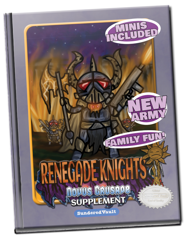 Novus Crusade Renegade Knights Supplement Cover