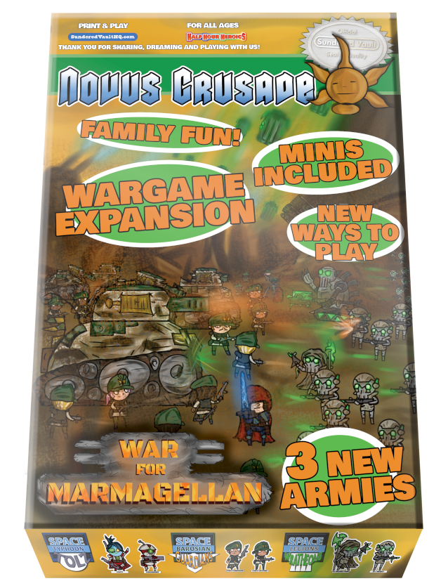 Novus Crusade War for Marmagellan Box Cover