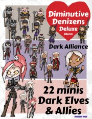 Diminutive Denizens Deluxe: 28mm Minis Packs