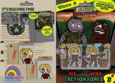 URF! Wave 2: Action Force 3: Ina and Mina