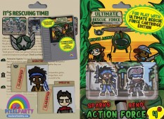 URF! Action Force 4: Sparks and Reno