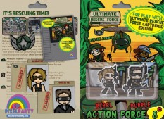 URF! Action Force 8: Rebel and Rubble