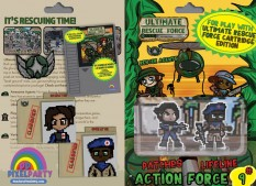 URF! Action Force 9: Patches and Lifeline