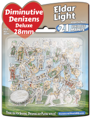Diminutive Denizens Deluxe: Eldar Light Minis Pack