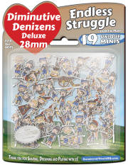 Diminutive Denizens Deluxe: Endless Struggle Minis Pack