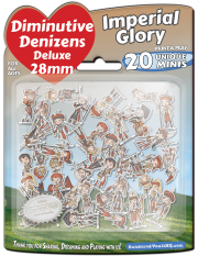 Diminutive Denizens Deluxe: Imperial Glory Minis