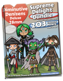 Supreme Delight Miniatures Bundle [BUNDLE]