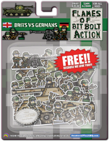 Pixel Party: Flames of Bit Bolt Action: British vs Germans Copy