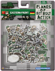 Pixel Party: Flames of Bit Bolt Action: EASTERN FRONT - 28mm & 15mm Soviet and German Miniatures!