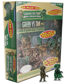 Green Vs. Tan - Fury Farm Battleset