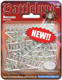 Battlelund Expanded Armies: 15mm Nightlands Army and Rules