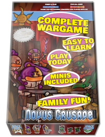 Novus Crusade: Half Hour Heroics! Easy to Learn, Play Today!