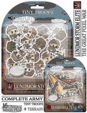 GPW - Lundmor Storm Elite - Complete Army - Great Pixel War